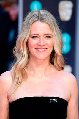 Edith Bowman attending the EE British Academy Film Awards held at the Royal Albert Hall, Kensington Gore, Kensington, London.  PRESS ASSOCIATION Photo. Picture date: Sunday February 18, 2018. See PA Story SHOWBIZ Bafta. Photo credit should read: Ian West/PA Wire.