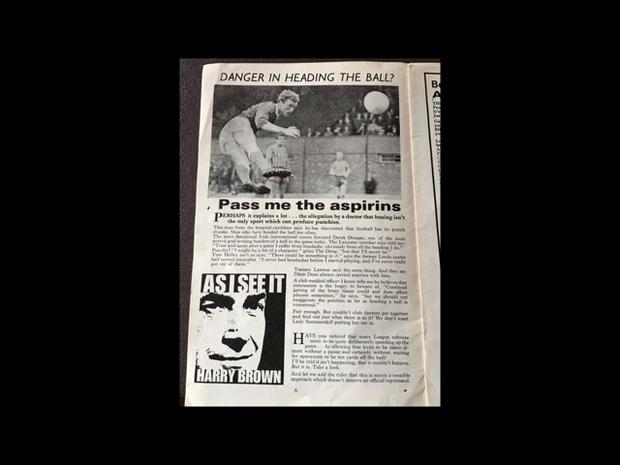 Article from the Football League Review from October 1966 (PA)