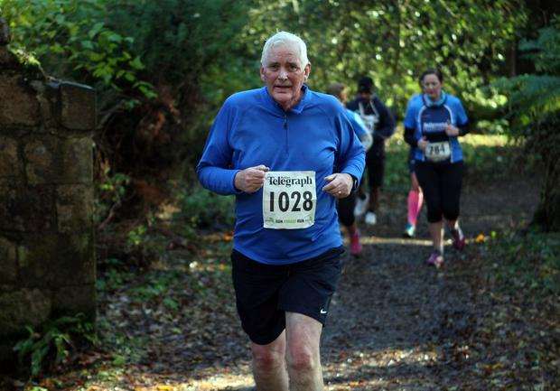 Mandatory Credit - Picture by Freddie Parkinson/Press Eye © Saturday 19th November 2016 Belfast Telegraph Run Forest Run Drum Manor Forest Park, Drum Road, Cookstown BT80 9RT Ronnie MCKEOWN CRAIGAVON