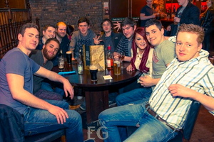 The Eg, Belfast. Saturday 22 March 2014.
