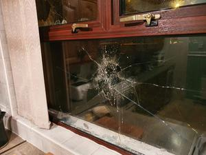 Bomb attack at the house of Martin Finucane at Glenties Drive area of West Belfast .