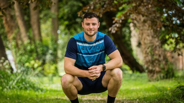No regrets: Robie Henshaw left Connacht in 2016 but is now looking forward to his second successive Champions Cup final with Leinster