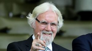 Sir Billy Connolly has received a second dose of the vaccine (Jane Barlow/PA)