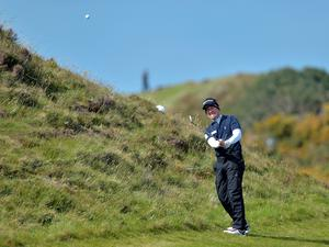 NEWCASTLE, NORTHERN IRELAND - MAY 28:  Steve Webster of England during Day One of the Irish Open at Royal County Down Golf Club on May 28, 2015 in Newcastle, Northern Ireland.  (Photo by Charles McQuillan/Getty Images)