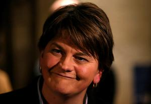 """Democratic Unionist leader Arlene Foster said the outcome of May's vote would """"decide the direction"""" the region takes for the next 10 years."""