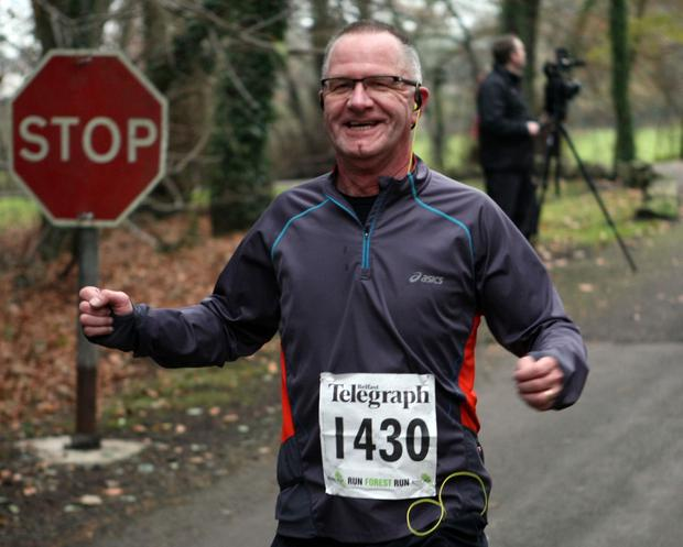 Mandatory Credit - Picture by Freddie Parkinson/Press Eye © Saturday 3rd December 2016 Belfast Telegraph Run Forest Run Loughgall. Loughgall Country Park, 11-14 Main Street, Loughgall, Armagh.  Richard Lee 10K Newtownabbey