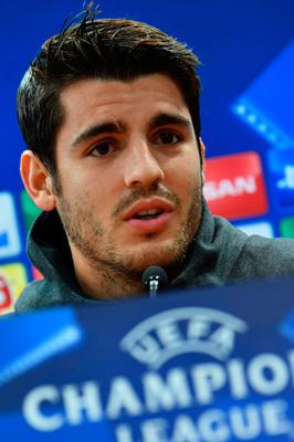 Chelsea's Spanish striker Alvaro Morata insists he is committed to the club.  Photo: Getty Images