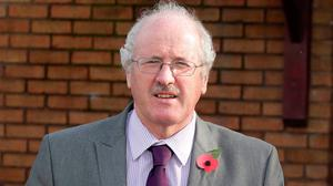 Controversy: Jim Shannon voted in favour of the Bill at Westminster
