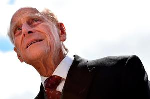 (FILES) This file photo taken on June 06, 2015 shows Britain's Prince Philip, Duke of Edinburgh arriving ahead of the racing on the second day of the Epsom Derby Festival in Surrey, southern England. The Duke of Edinburgh, who is 95, will no longer carry out public engagements from the autumn of this year, Buckingham Palace has announced on May 4, 2017. / AFP PHOTO / BEN STANSALLBEN STANSALL/AFP/Getty Images