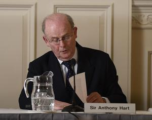 The late former High Court judge Sir Anthony Hart chaired the public inquiry and recommended that a commissioner be appointed (HIA/PA)