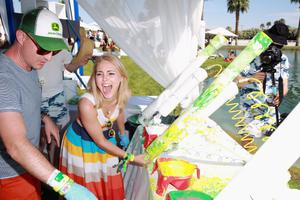 THERMAL, CA - APRIL 13:  Actress Annasophia Robb attends LACOSTE L!VE Desert Pool Party In Celebration Of Coachella on April 13, 2013 in Thermal, California.  (Photo by Joe Scarnici/Getty Images for LACOSTE)