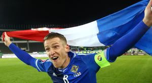 Steven Davis will lead the Northern Ireland team in France.