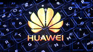 The Huawei logo (Dominic Lipinski/PA)