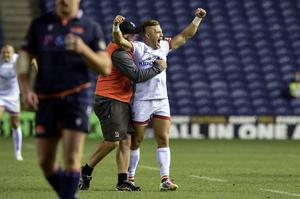 Ian Madigan proves Ulster's hero with two successful kicks late in the game.