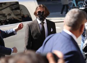 Johnny Depp is giving his fourth day of evidence in his case against The Sun newspaper (Yui Mok/PA)