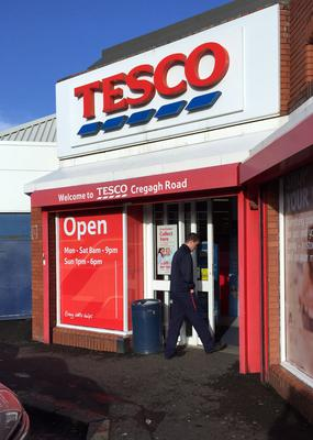 While Tesco is still the largest supermarket here, its share fell by around 2% in the 52 weeks to January 3, compared with the same period a year earlier