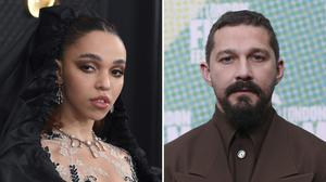 FKA twigs was in a relationship with Shia LaBeouf (AP)