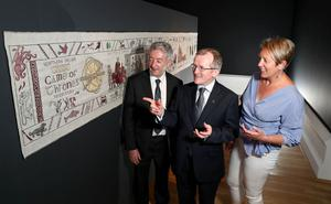 The Game of Thrones tapestry will be open to the public at the Ulster Museum from Saturday 22 July. Photo by William Cherry/Presseye