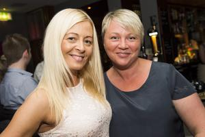 The Poet rebranding launch night pictured Cathy ferguson and Mandi Bellamine