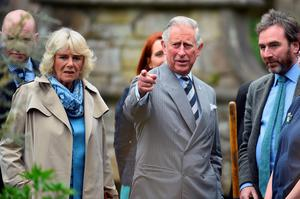 Prince Charles, Prince of Wales and Camilla, Duchess of Cornwall visit Mount Stewart on May 22, 2015 in Newtownards, Northern Ireland. Prince Charles, Prince of Wales and Camilla, Duchess of Cornwall visited Mount Stewart House and Gardens and Northern Ireland's oldest peace and reconciliation centre Corrymeela on the final day of their visit of Ireland.  (Photo by Jeff J Mitchell/Getty Images)