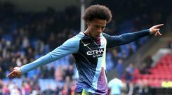 Leroy Sane struggled for playing time with Manchester City in the 2018-19 campaign (Steven Paston/PA)