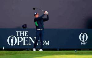 USA's Tom Lehman tees off the 1st to start day one during day two of The Open Championship 2019 at Royal Portrush Golf Club. PRESS ASSOCIATION Photo. Picture date: Friday July 19, 2019. See PA story GOLF Open. Photo credit should read: Niall Carson/PA Wire. RESTRICTIONS: Editorial use only. No commercial use. Still image use only. The Open Championship logo and clear link to The Open website (TheOpen.com) to be included on website publishing.