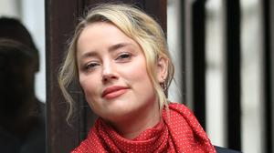Actress Amber Heard outside the High Court in London (Aaron Chown/PA)