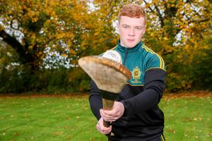 Battling back: Odhran McKenna, who was seriously injured in a road traffic accident in February, has returned to hurling