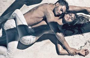 Northern Ireland model Jamie Dornan and Eva Mendes in their sultry new Calvin Klein advert