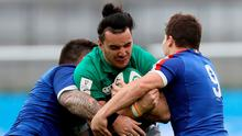 Had James Lowe's try been given, it may have proved a different afternoon for Ireland.