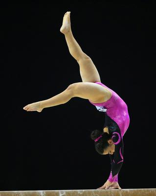 Claudia Fragapane on the beam during the Artistic Gymnastics British Championships 2016 at the Echo Arena, Liverpool. PRESS ASSOCIATION Photo. Picture date: Saturday April 9, 2016. See PA story GYMNASTICS Liverpool. Photo credit should read: Nigel French/PA Wire. RESTRICTIONS: EDITORIAL USE ONLY, NO COMMERCIAL USE WITHOUT PRIOR PERMISSION, PLEASE CONTACT PA IMAGES FOR FURTHER INFO: Tel: +44 (0) 115 8447447.