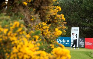 NEWCASTLE, NORTHERN IRELAND - MAY 29:  Sergio Garcia of Spain tees off on the 15th hole during the Second Round of the Dubai Duty Free Irish Open Hosted by the Rory Foundation at Royal County Down Golf Club on May 29, 2015 in Newcastle, Northern Ireland.  (Photo by Andrew Redington/Getty Images)