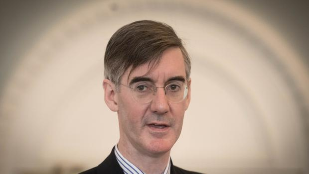 Tory backbench Brexiteer Jacob Rees-Mogg delivered a scathing verdict on the plan (Stefan Rousseau/PA)