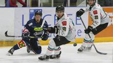 Belfast Giants forward David Goodwin in action against the Dundee Stars