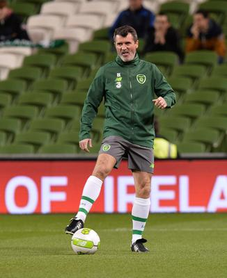 PACEMAKER BELFAST  15/11/18 Republic of Ireland v Northern Ireland International Friendly Roy Keane  during this evenings game  at the Aviva Stadium in Dublin. Photo Colm Lenaghan/Pacemaker Press
