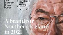 The Northern Ireland centenary campaign featuring Seamus Heaney. Credit: Northern Ireland Office