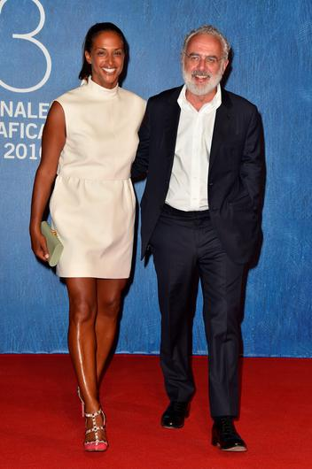 VENICE, ITALY - SEPTEMBER 02:  Vanessa Riding and Francesco Bonami attend the premiere of 'Franca: Chaos And Creation' during the 73rd Venice Film Festival at Sala Giardino on September 2, 2016 in Venice, Italy.  (Photo by Pascal Le Segretain/Getty Images)