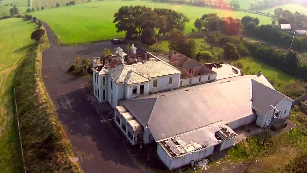 Holiday home plans for derelict Northern Ireland hotel