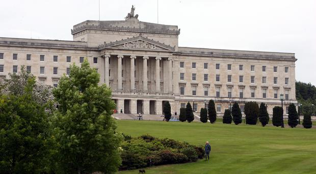 The Stormont institutions collapsed in January 2017 (PA)