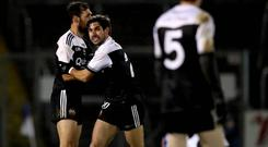 Kilcoo's Aidan Branigan and Niall Branigan. Credit: INPHO/Ryan Byrne