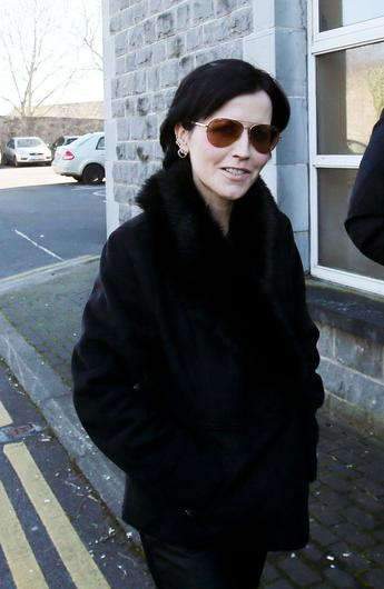 Cranberries singer Dolores O'Riordan, who was found dead at the Hilton Hotel in London's Park Lane in January. The inquest into her death resumes today at Westminster Coroner's Court.