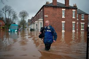Carlisle suffered with some of the worst flooding