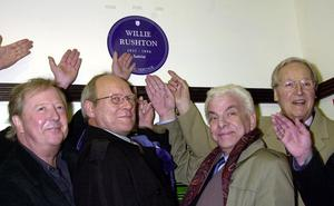 Tim Brooke-Taylor with Graeme Garden, Barry Cryer, and Nicholas Parsons (John Stillwell/PA)