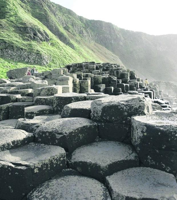 Marketing agenda: The Giant's Causeway is an attractive facility