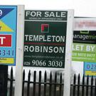 In the last quarter, house prices in Northern Ireland rose to an average of £133,449. Photo: Paul Faith/PA
