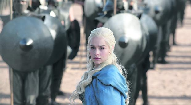 Emilia Clarke plays Daenerys Targaryen in the HBO series