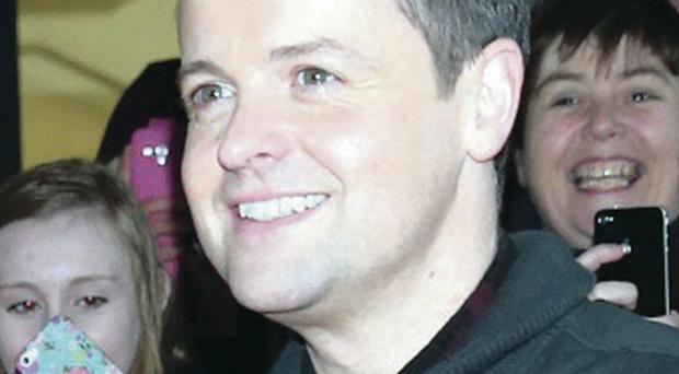 Britain's Got Talent host Declan Donnelly in Belfast