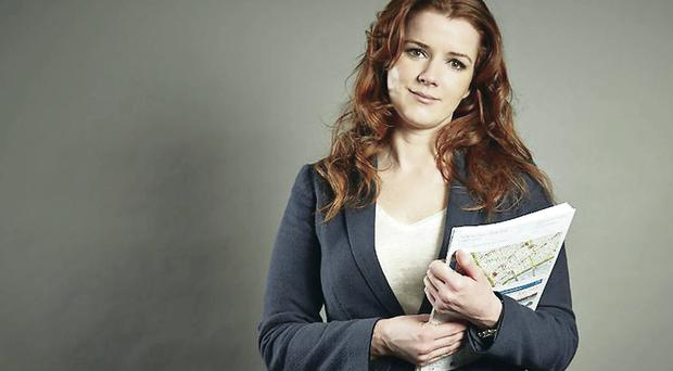 Irish redhead Eileen from Under Offer: Estate Agents