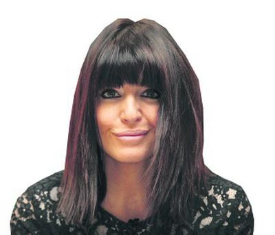 Hair we go: Claudia Winkleman