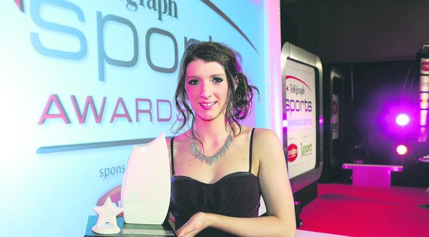 Golden moment: London Paralympic gold medal winner Bethany Firth was the Belfast Telegraph Young Player of the Year for 2012